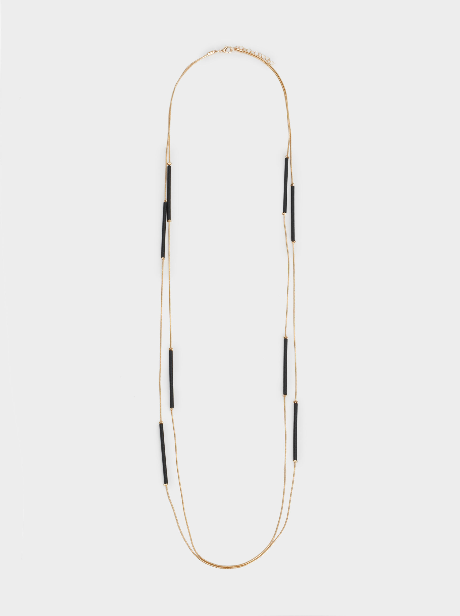 Blog Long Two-Tone Necklace, , hi-res