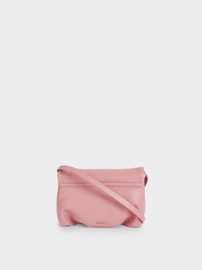 Party Handbag With Chain Handle, Pink, hi-res