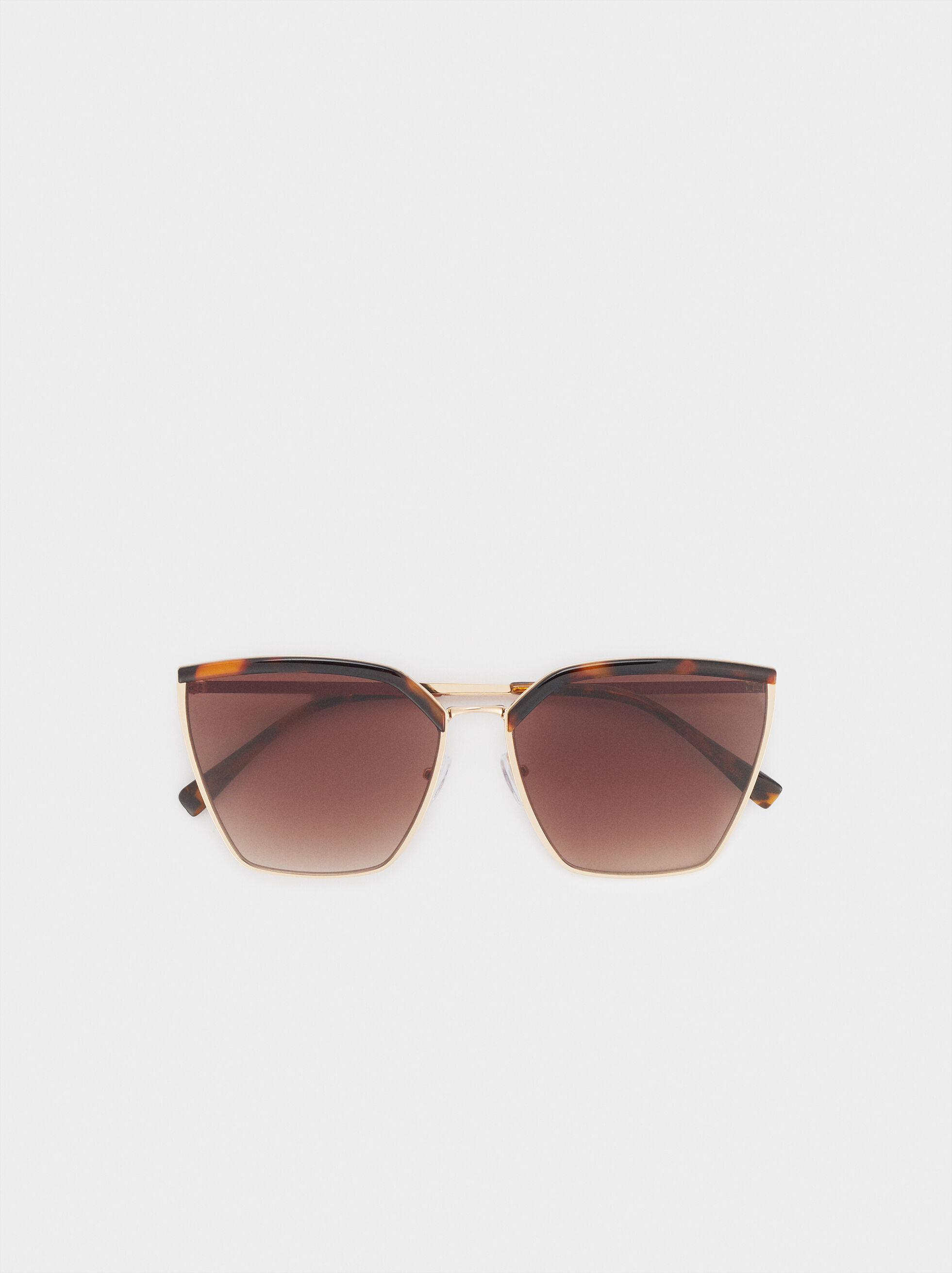General Sunglasses Sunglasses, Brown, hi-res