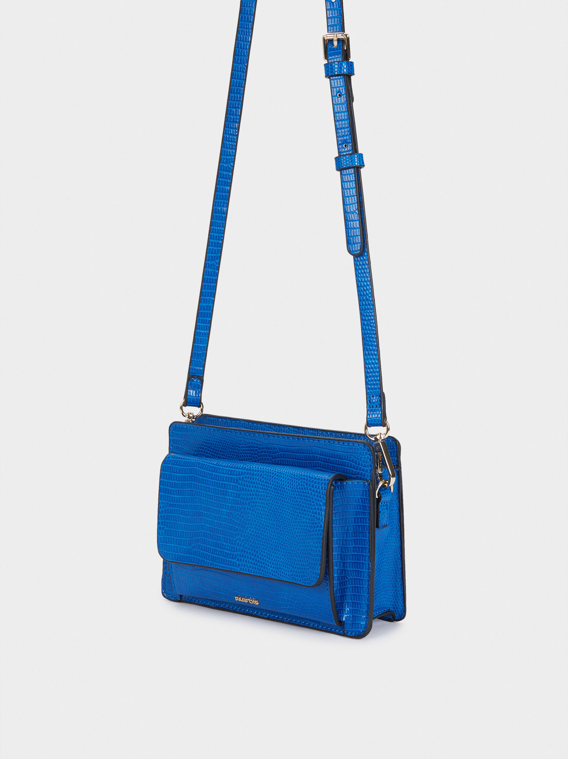 Basil Cross Bag, Blue, hi-res