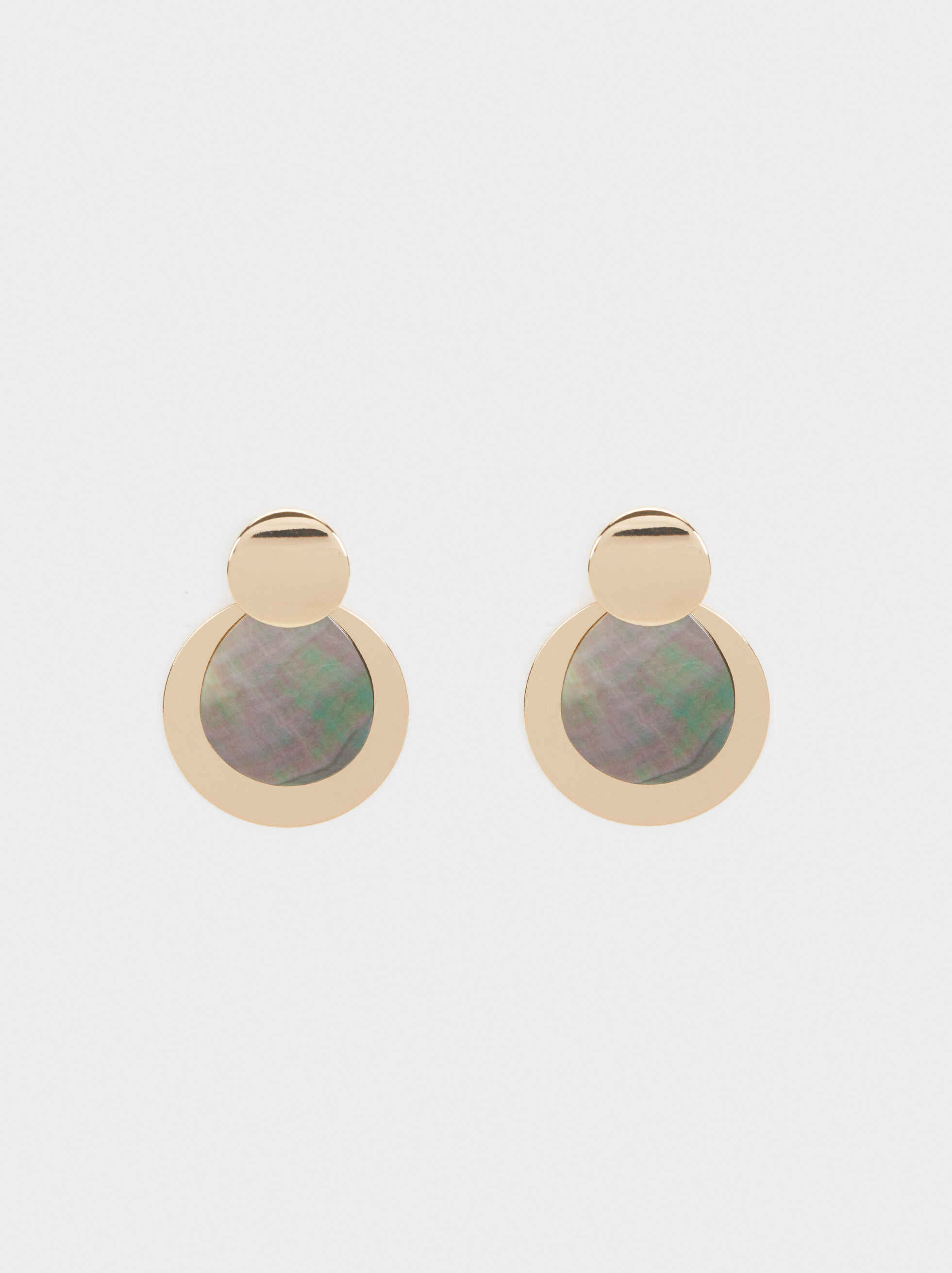 Blog Medium Earrings, Multicolor, hi-res