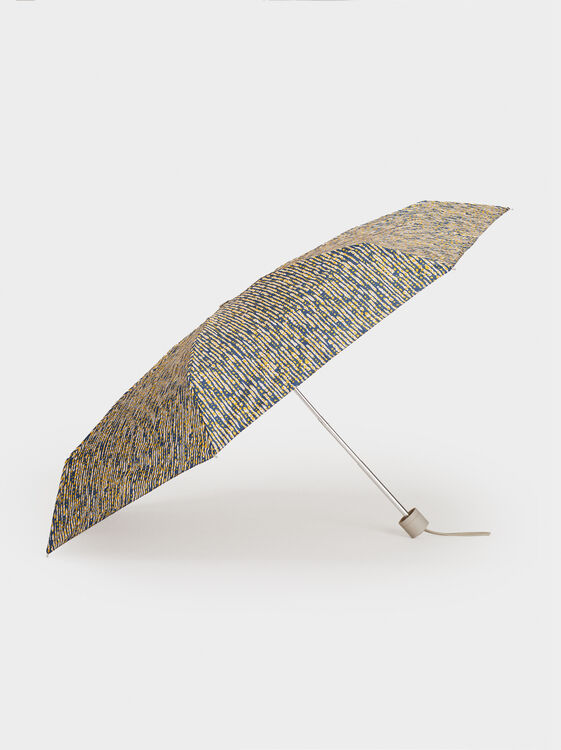 Printed Small Umbrella, Multicolor, hi-res