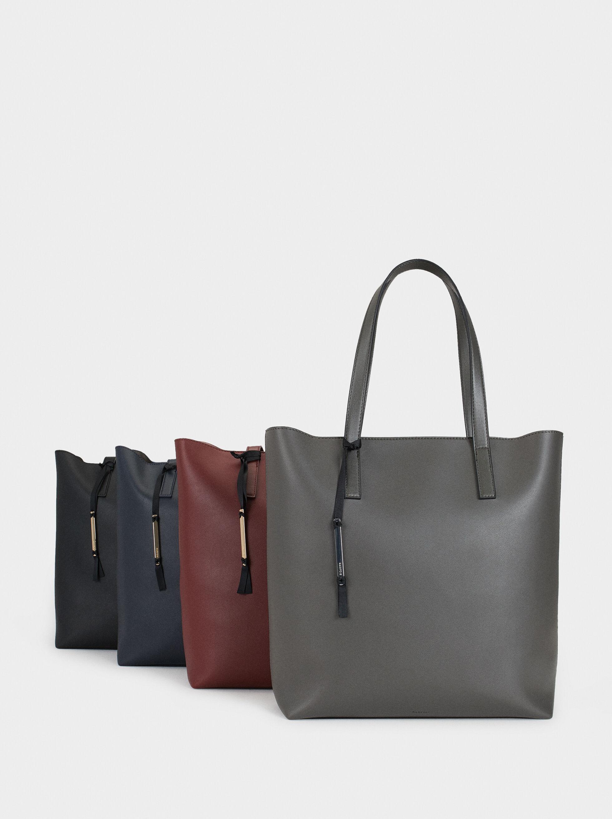Tote Bag With Metallic Appliqué, , hi-res