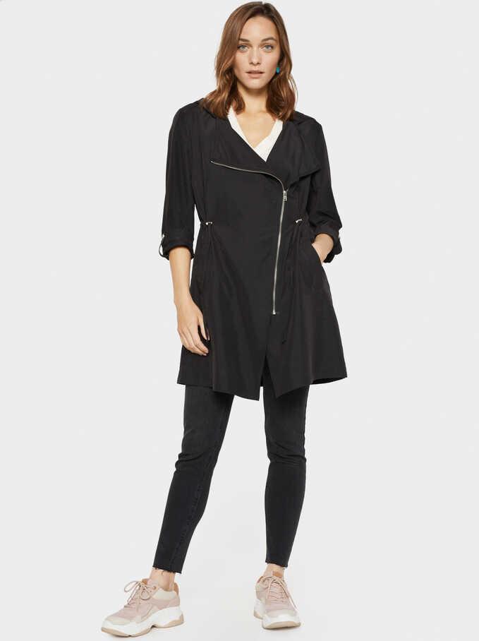 Basic Jacket, Black, hi-res
