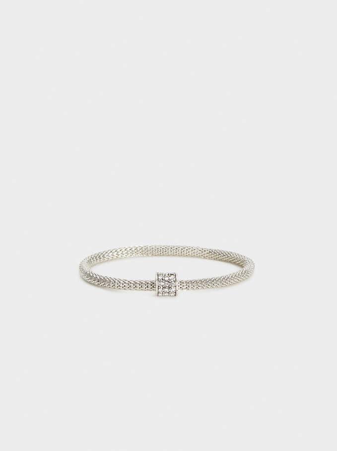 Silver Basics Bracelet, Silver, hi-res