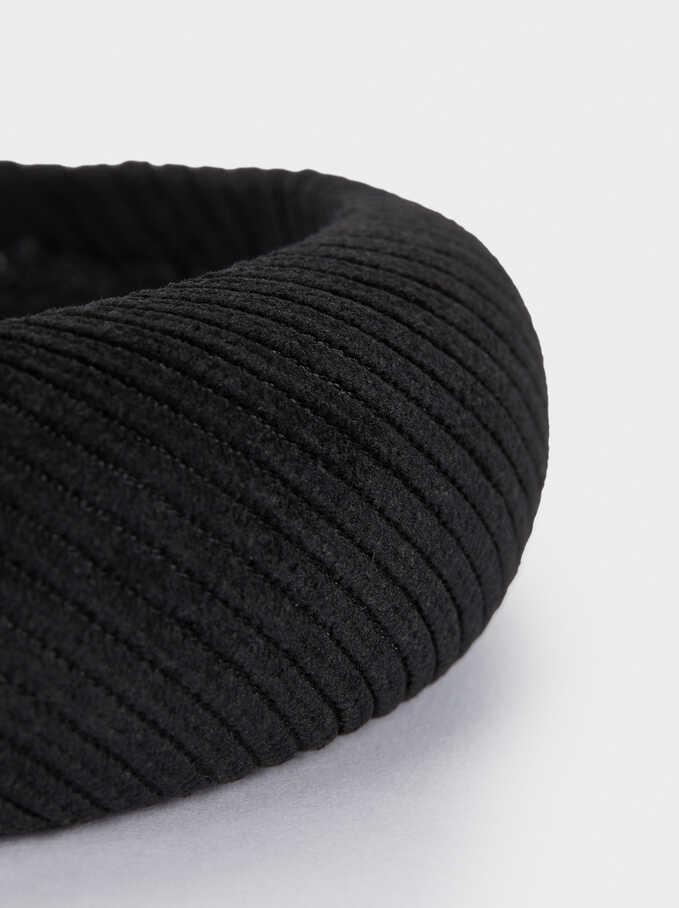Rigid Headband, Black, hi-res