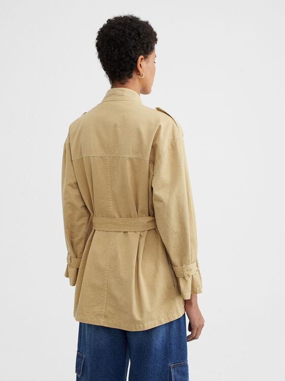 Military Jacket, Mustard, hi-res