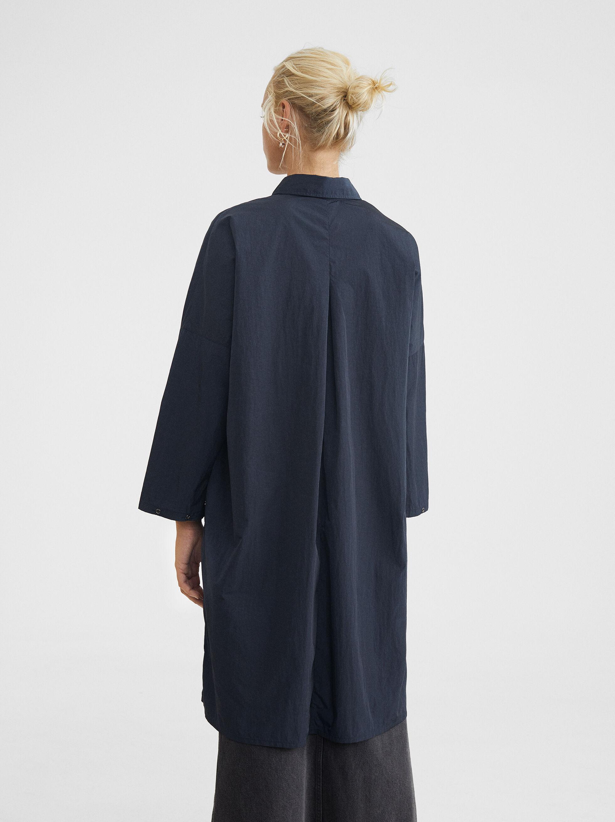 Veste Légère En Nylon, Bleu, hi-res