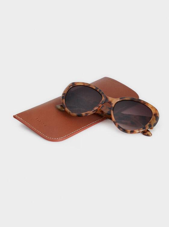 Basics Sunglasses, Brown, hi-res
