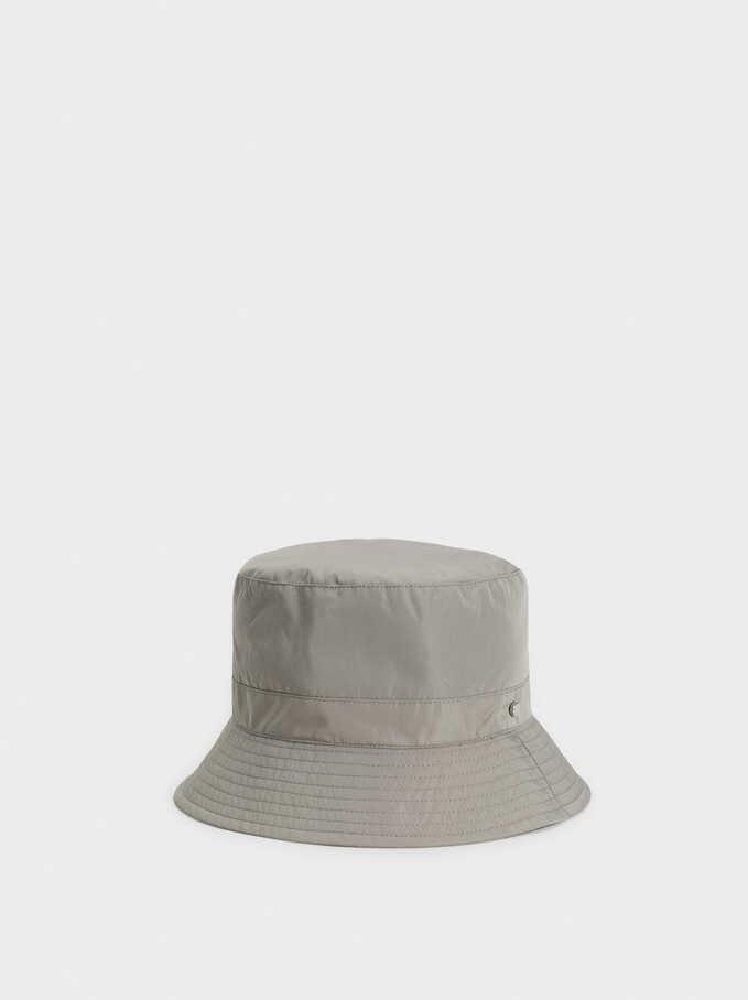Sombrero Impermeable , Gris, hi-res