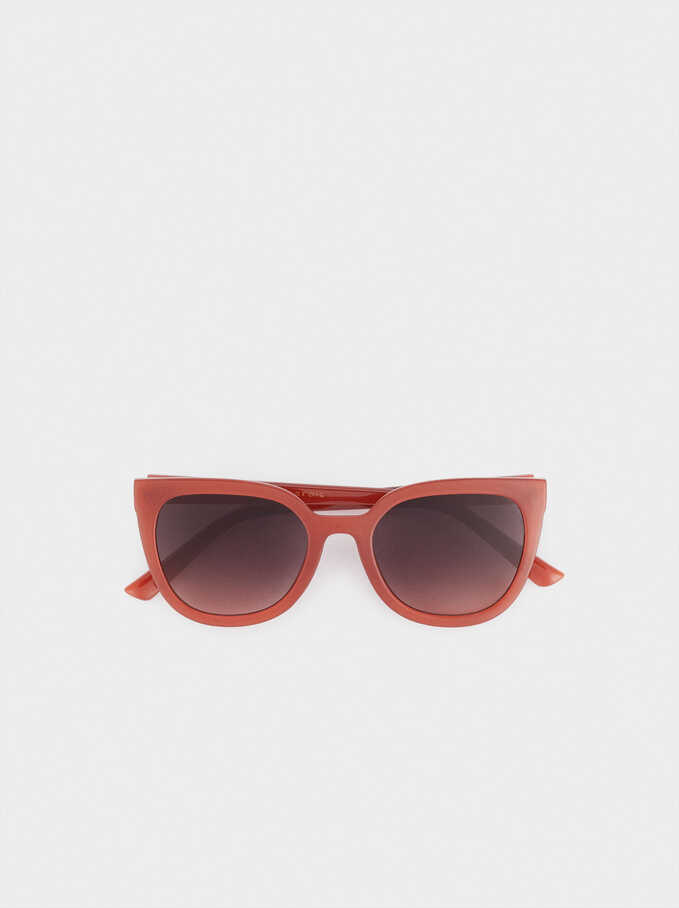 Sunglasses With Resin Frame, Purple, hi-res
