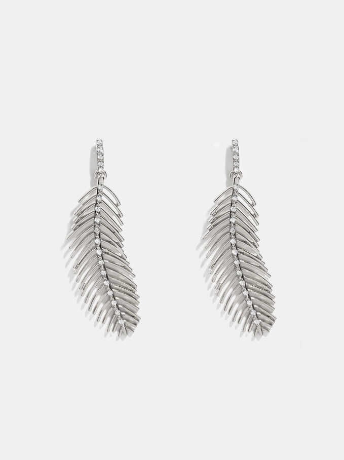 Silver Delicates Earrings, Silver, hi-res