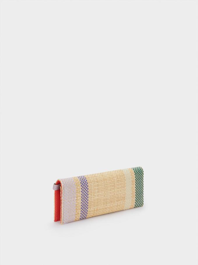 Straw Multipurpose Bag, Green, hi-res