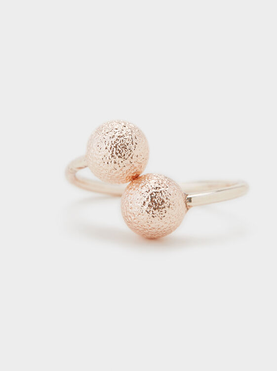 Pink Desert Ring With Spheres, Orange, hi-res