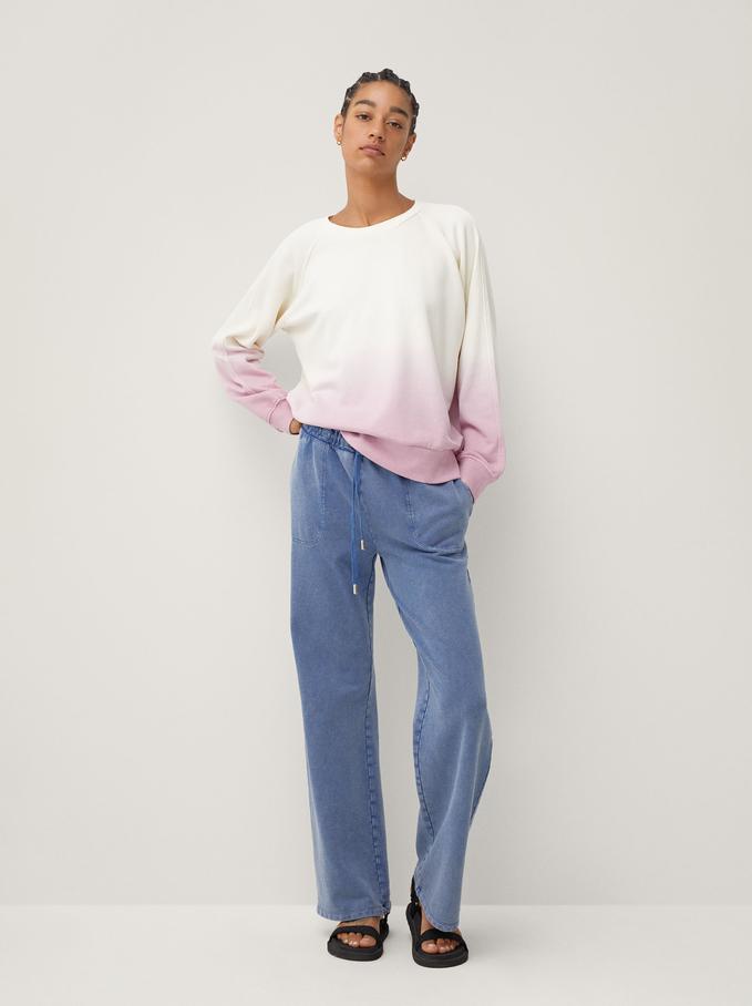 Sweatshirt 100% Coton Limited Edition, Rose, hi-res