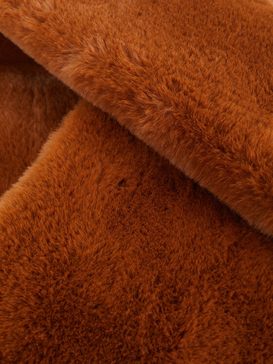 Faux Fur Snood, Camel, hi-res