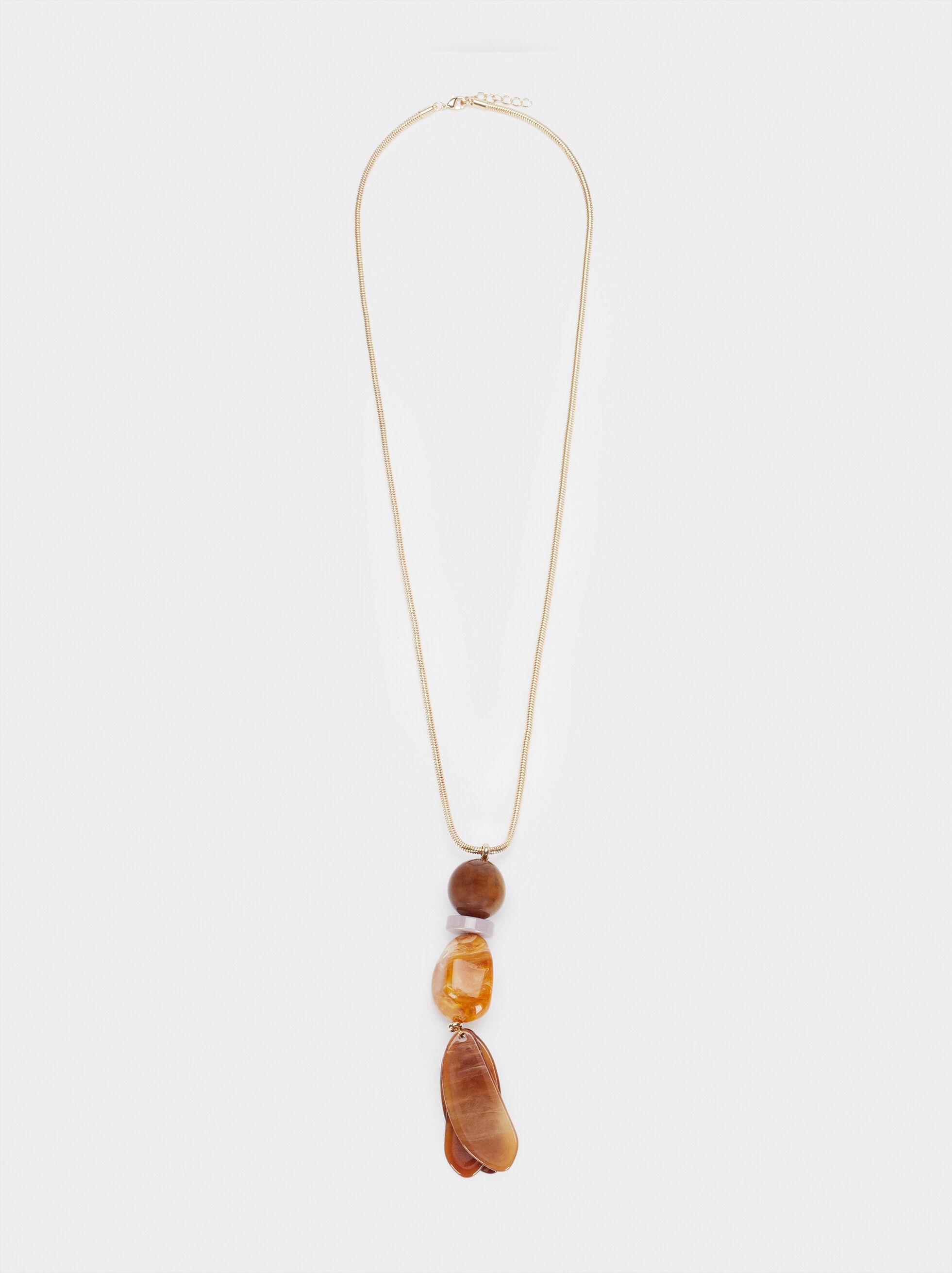 Collier Long Avec Pendentif, Multicolore, hi-res