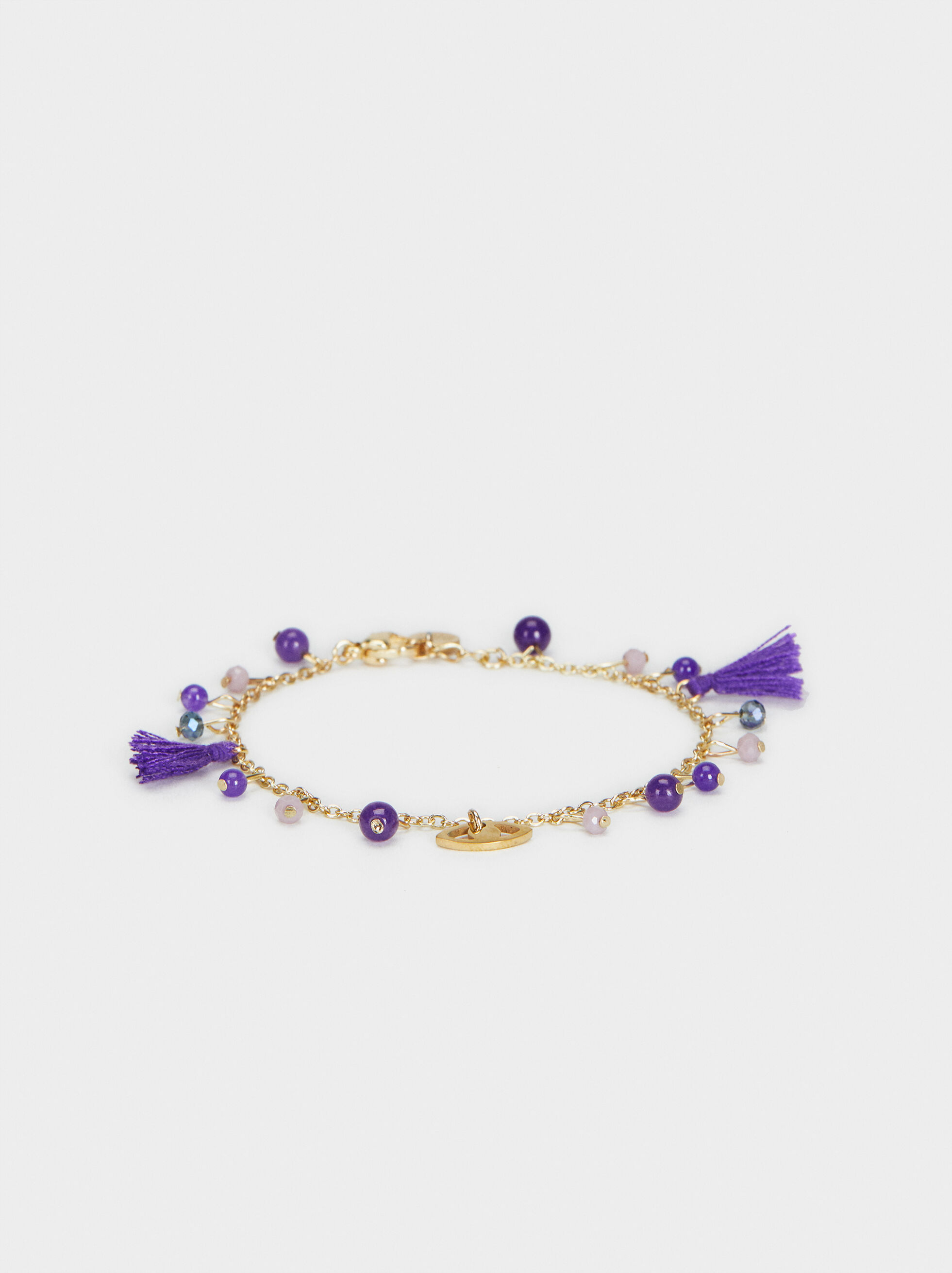 Dusty Lavender Bracelet, Purple, hi-res
