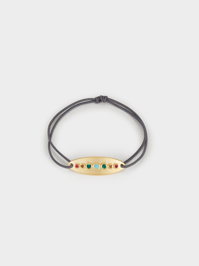 Elastic Silver 925 Bracelet, Multicolor, hi-res