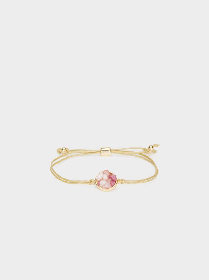 Petrified Adjustable Bracelet, Multicolor, hi-res