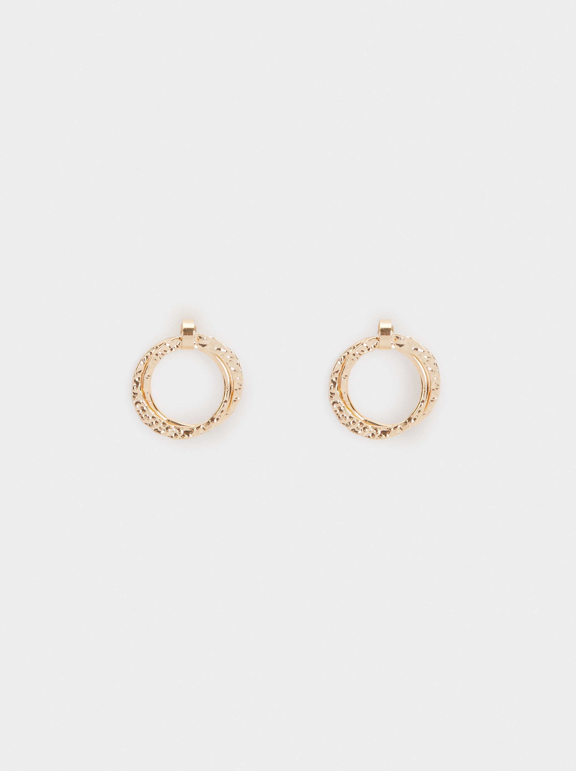 Diamanté Short Drop Earrings, , hi-res