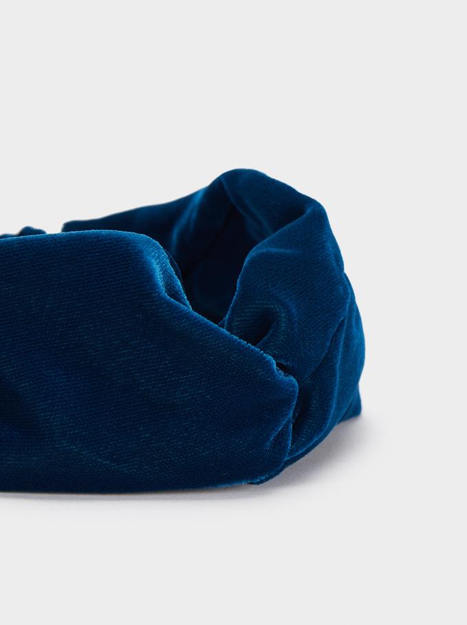 Diadème Turban , Bleu, hi-res