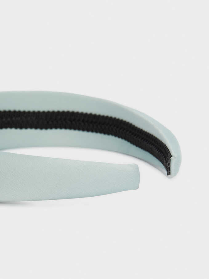 Headband With Multicolour Gems, Green, hi-res