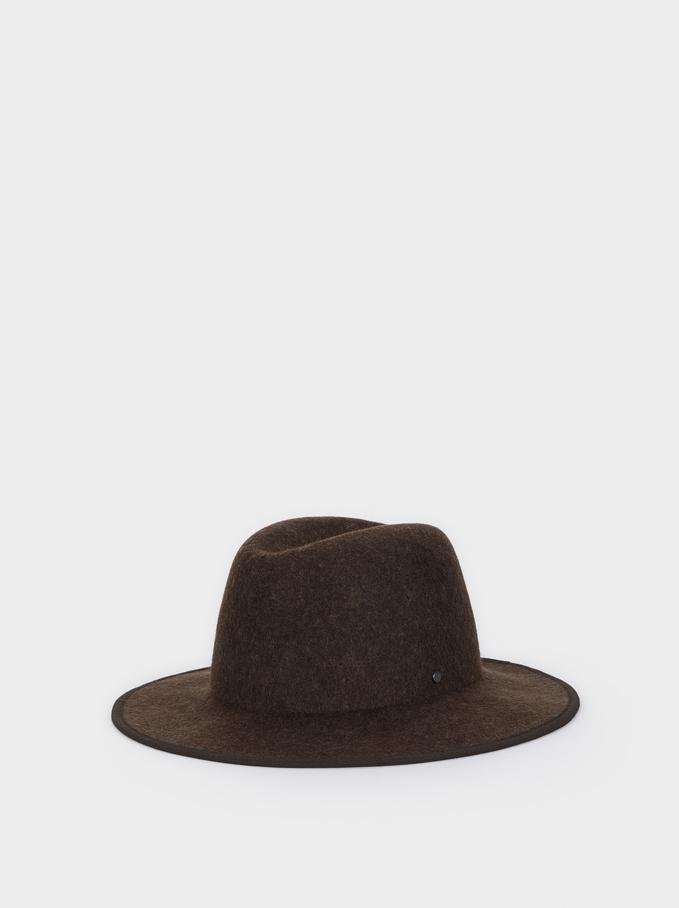 Woollen Hat, Green, hi-res