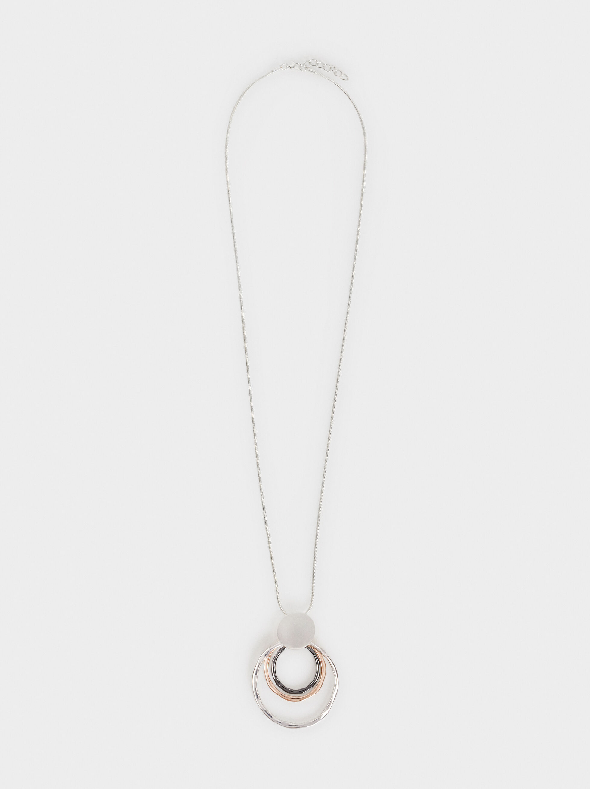 Long Pendant Necklace, , hi-res