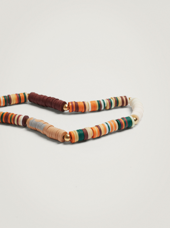 Mobile Holder With Beads, Multicolor, hi-res