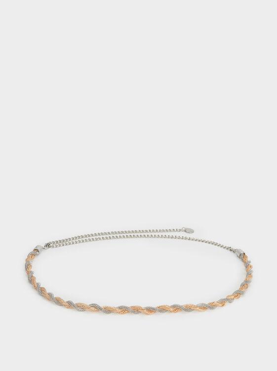 Chain Party Belt, Golden, hi-res