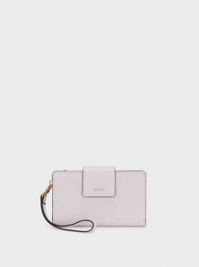 Purse With Handle, Violet, hi-res
