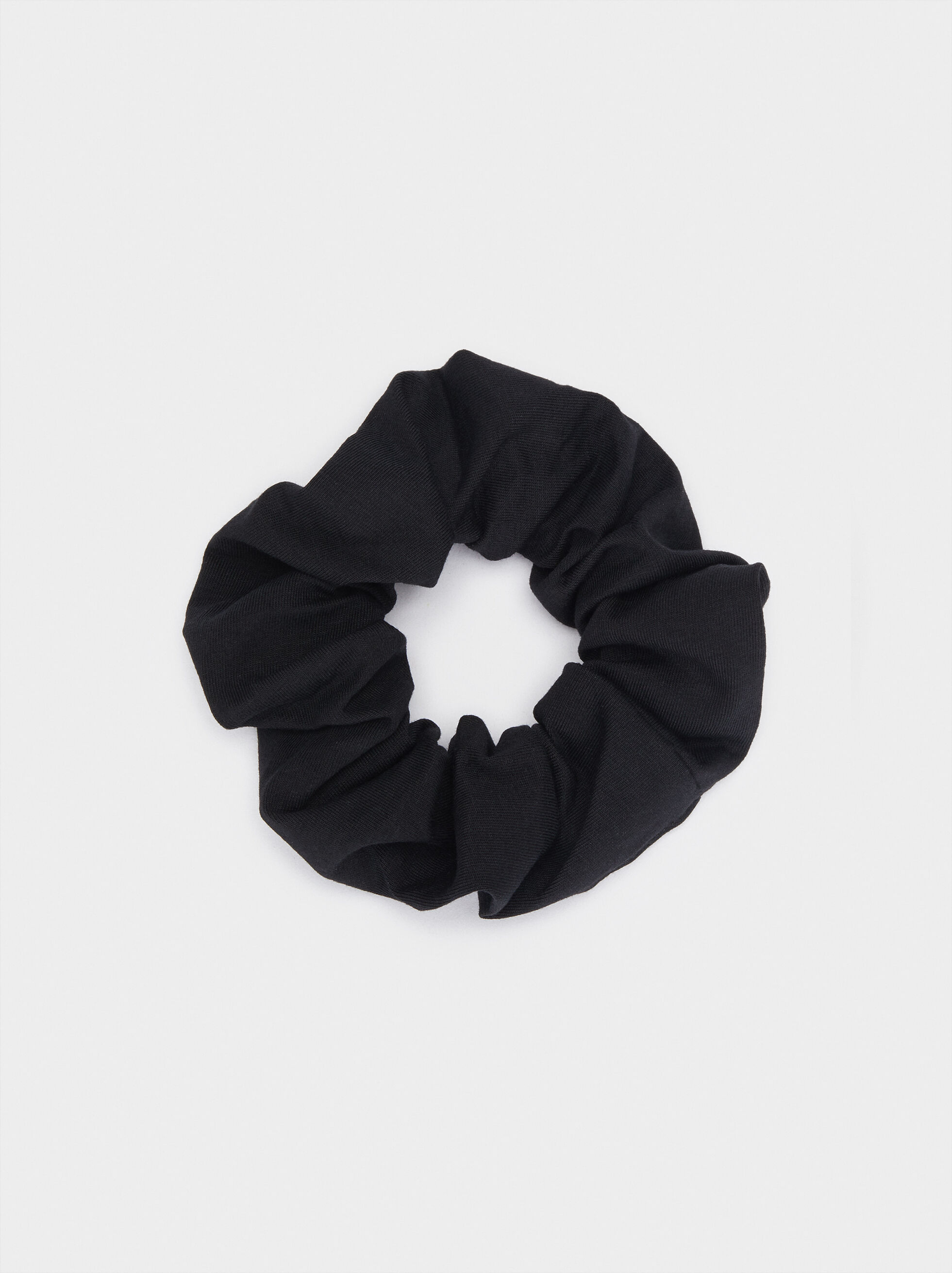 Basic Hair Tie, Black, hi-res