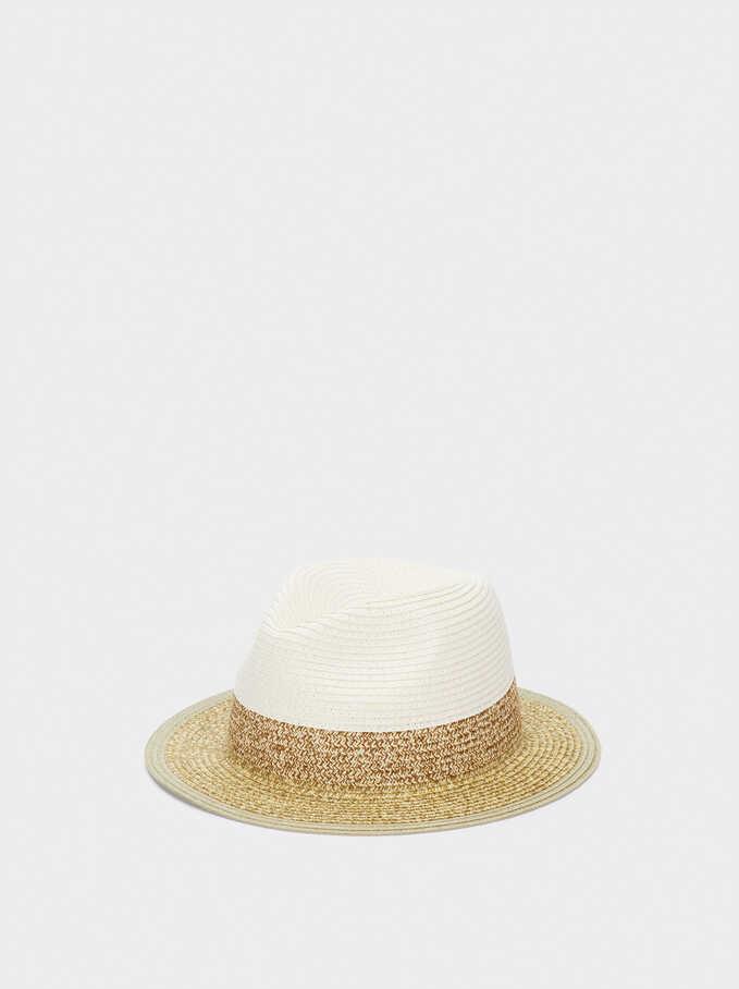 Sombrero Trenzado, Beige, hi-res