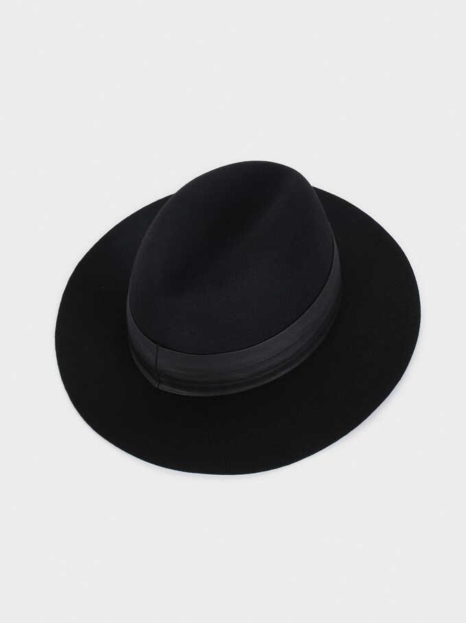 Wool Hat, Black, hi-res