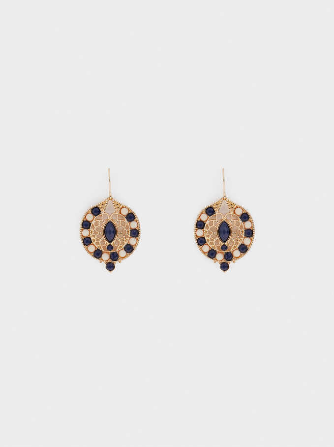 Earrings With Beads, , hi-res