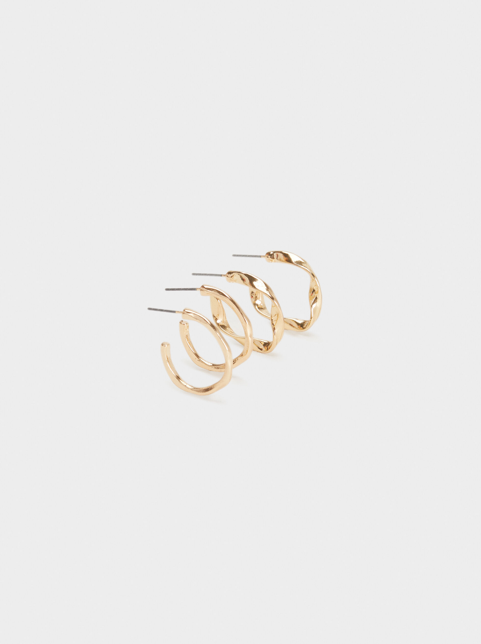 Basic Hoop Earring Set, , hi-res