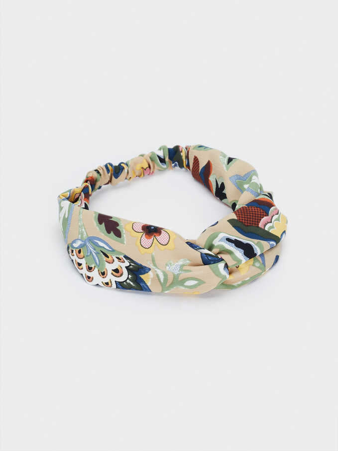 Knotted Headband, Multicolor, hi-res