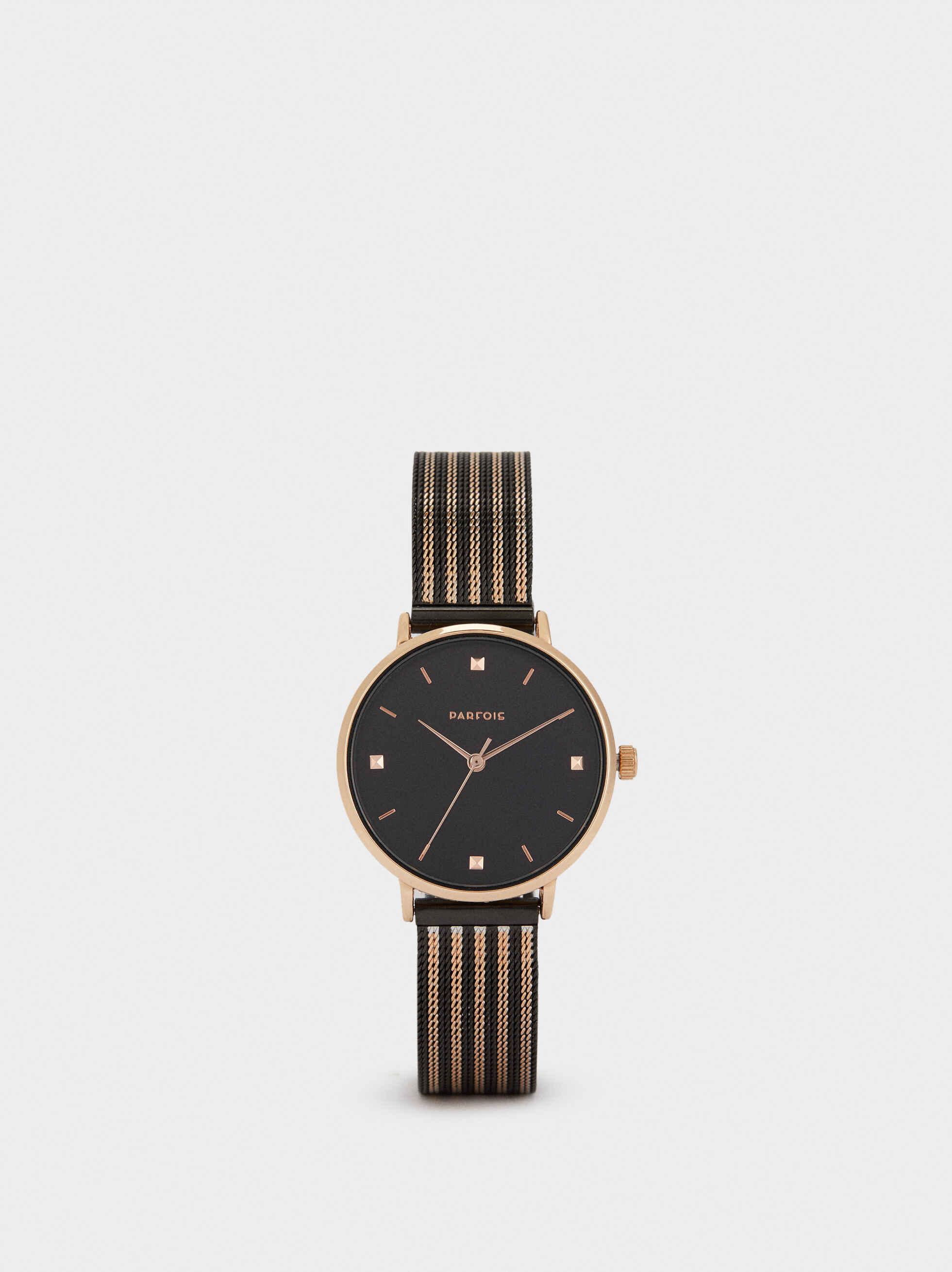 Watch With Interchangeable Straps, Orange, hi-res