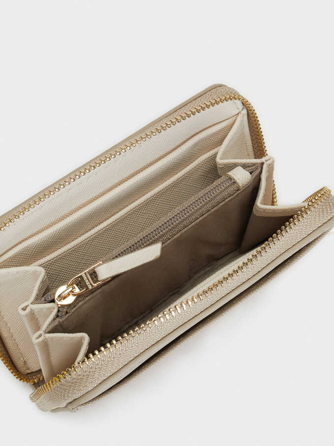 Basic Small Purse, Brown, hi-res