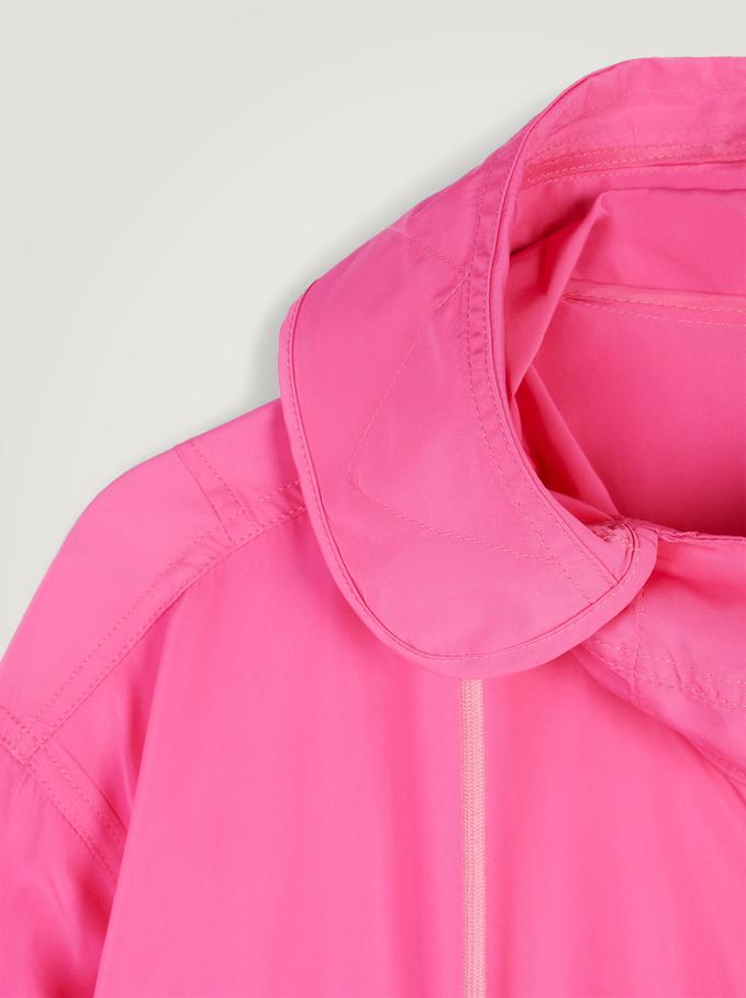 Light Jacket With Hood, Pink, hi-res