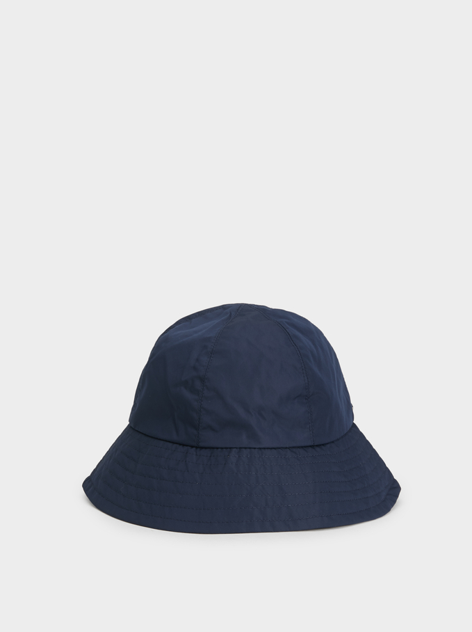 Waterproof Rain Hat , Navy, hi-res