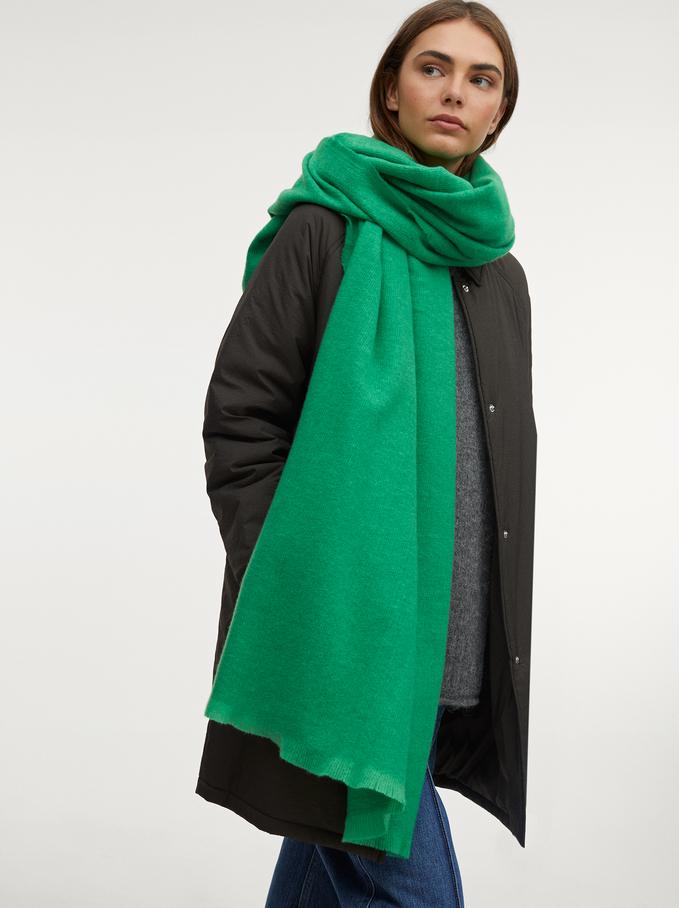 Maxi Bufanda Lisa, Verde, hi-res