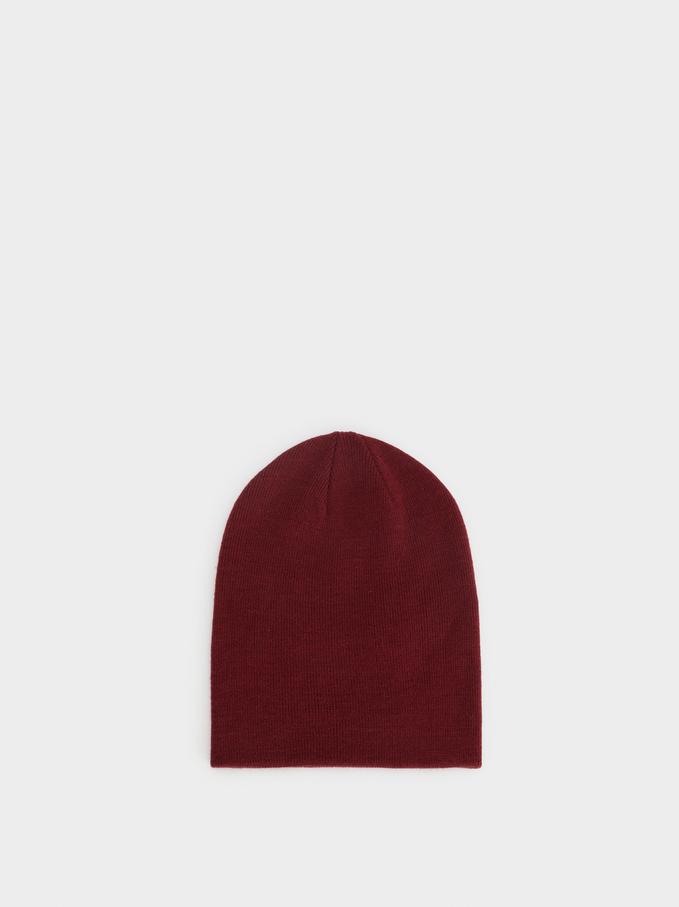 Plain Hat, Bordeaux, hi-res