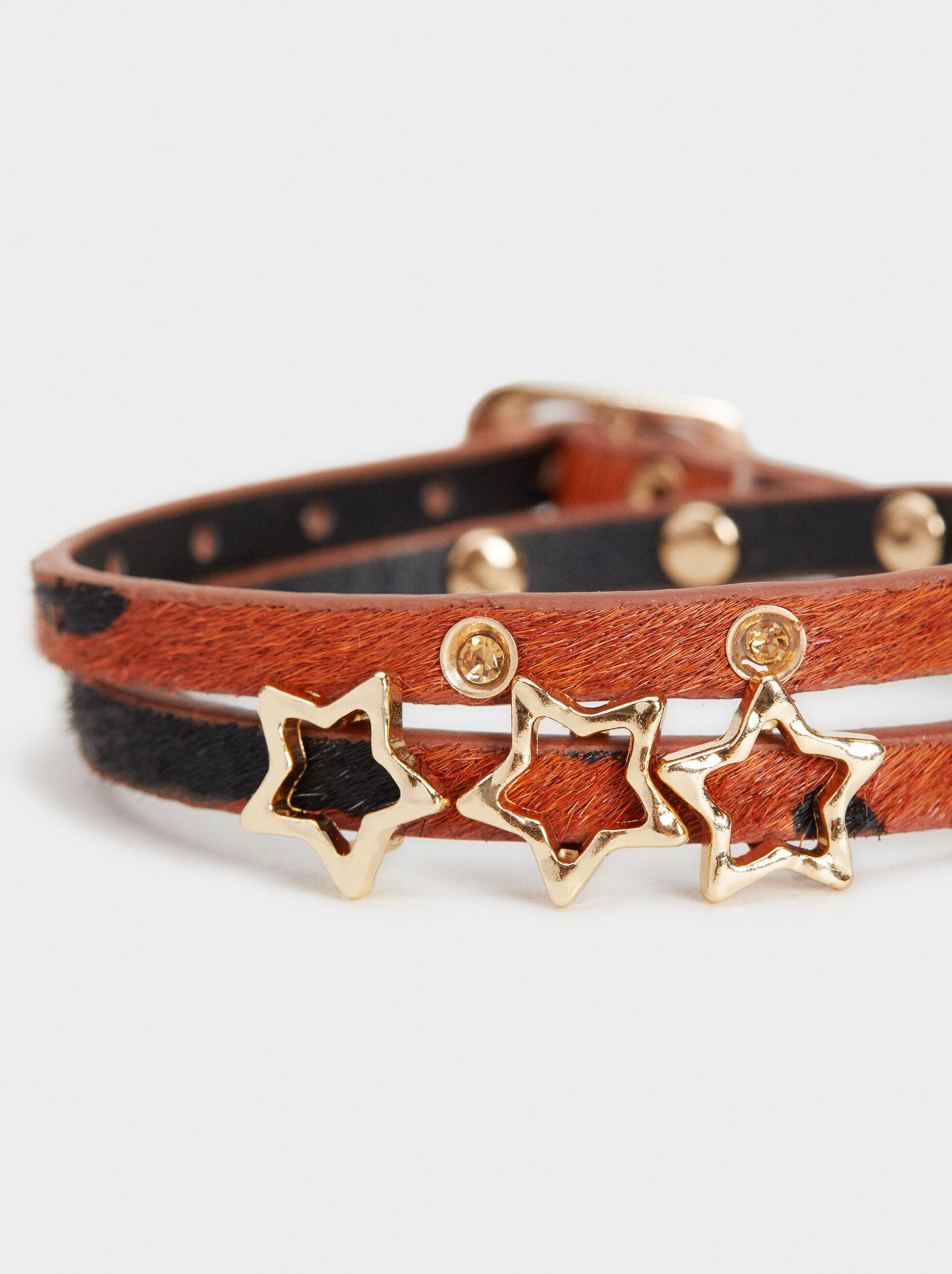 Animal Fever Adjustable Bracelet, Camel, hi-res