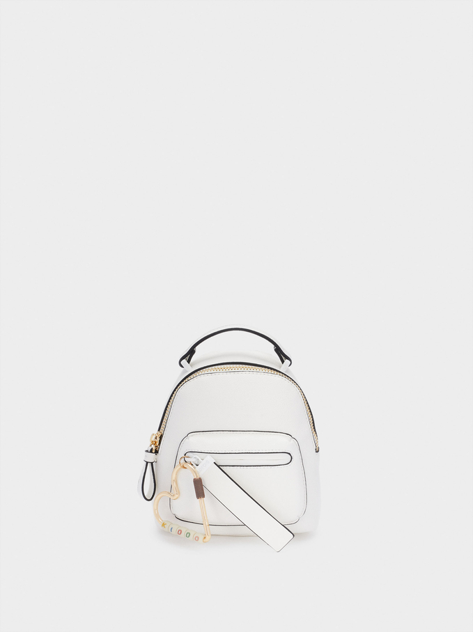 Two-Way Backpack, White, hi-res