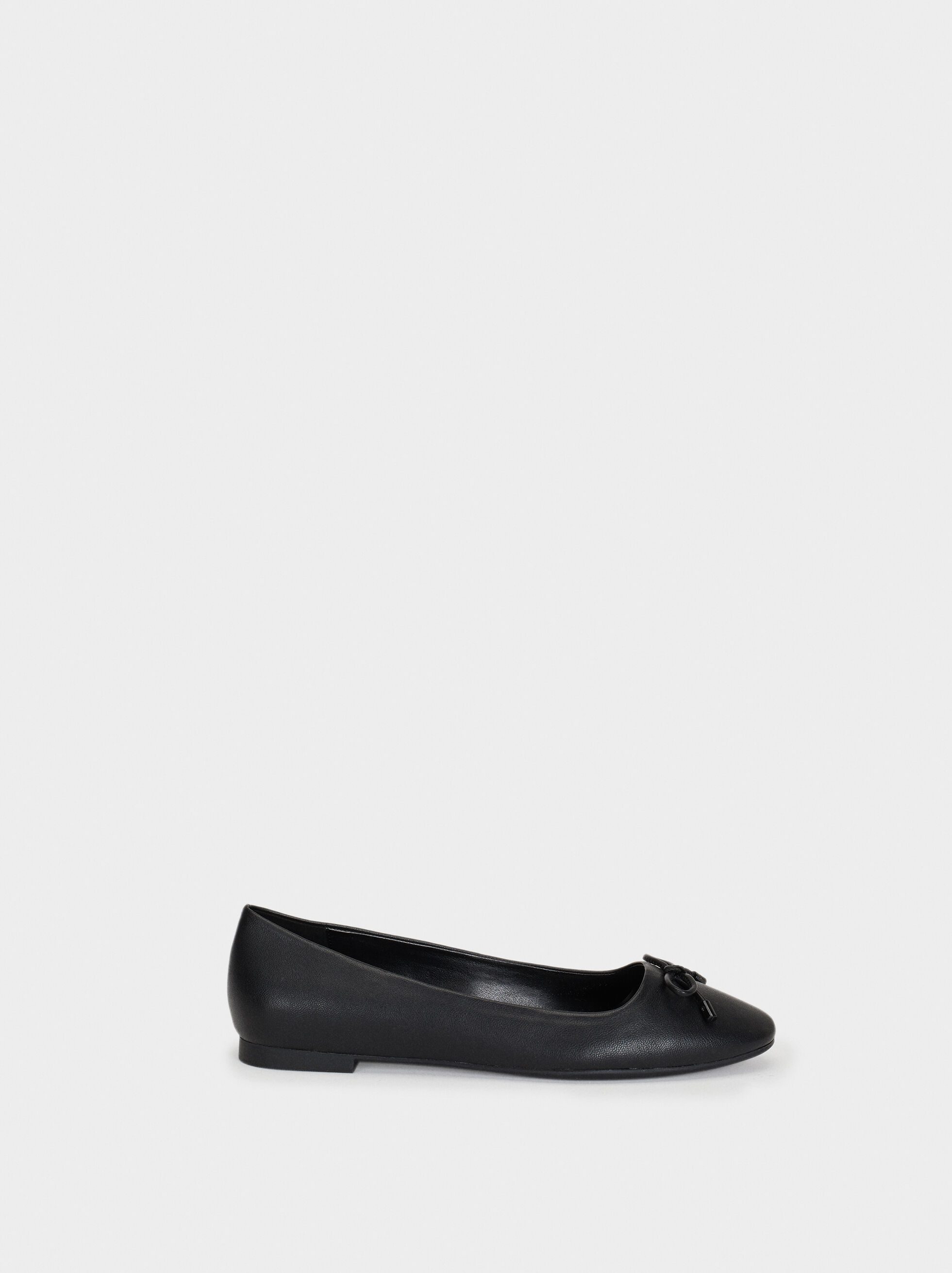 Basic Ballerinas, Black, hi-res