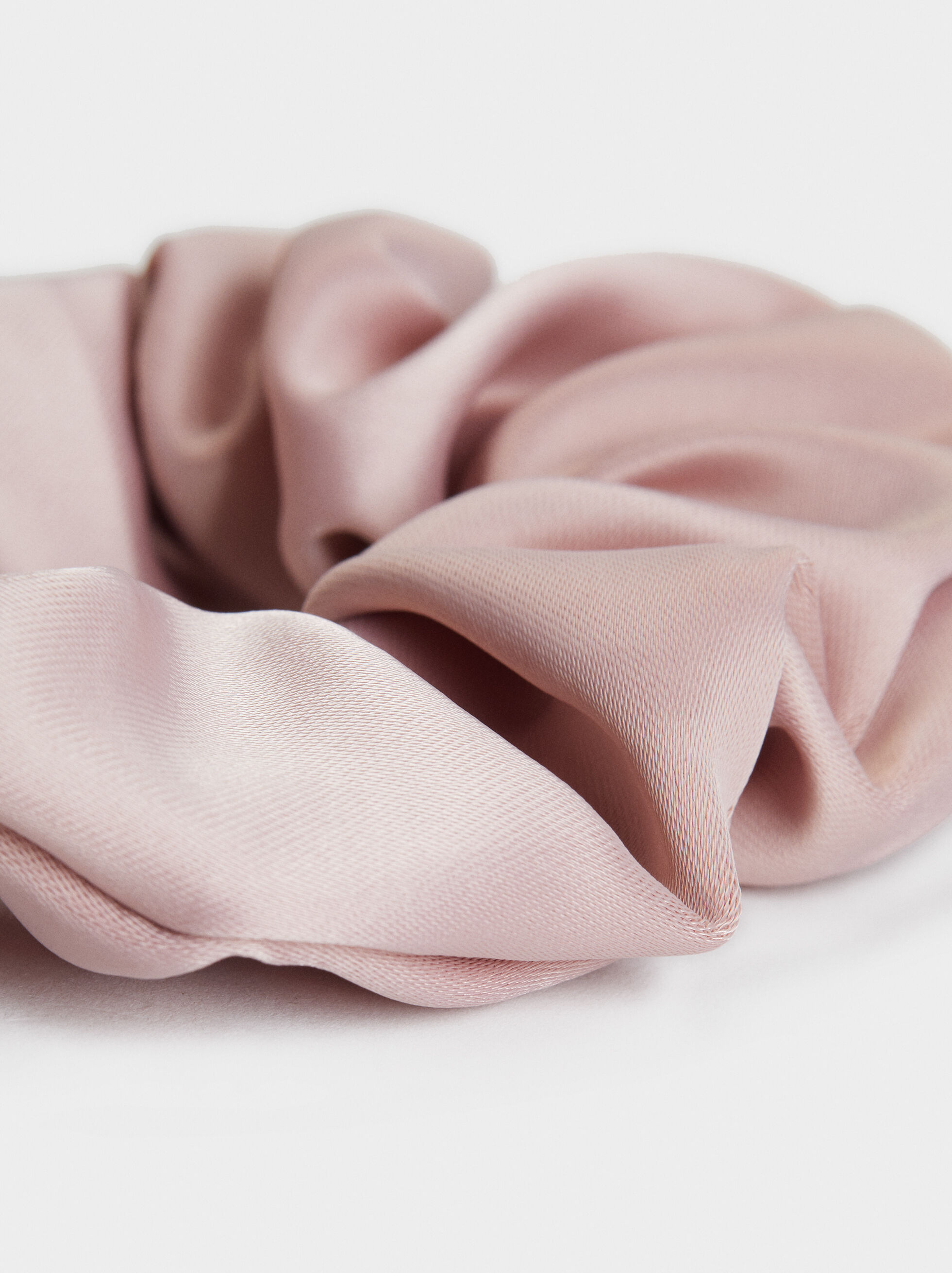Plain Scrunchie, Pink, hi-res
