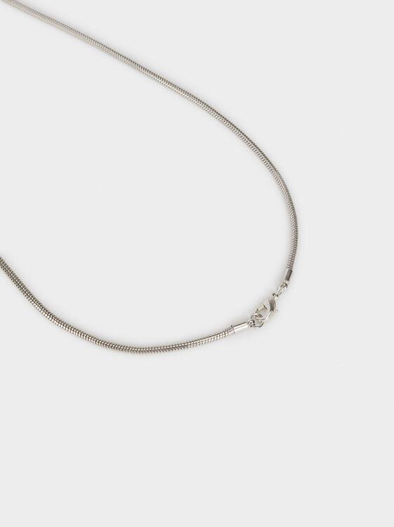 Magnolia Long Necklace With Pendant, Multicolor, hi-res