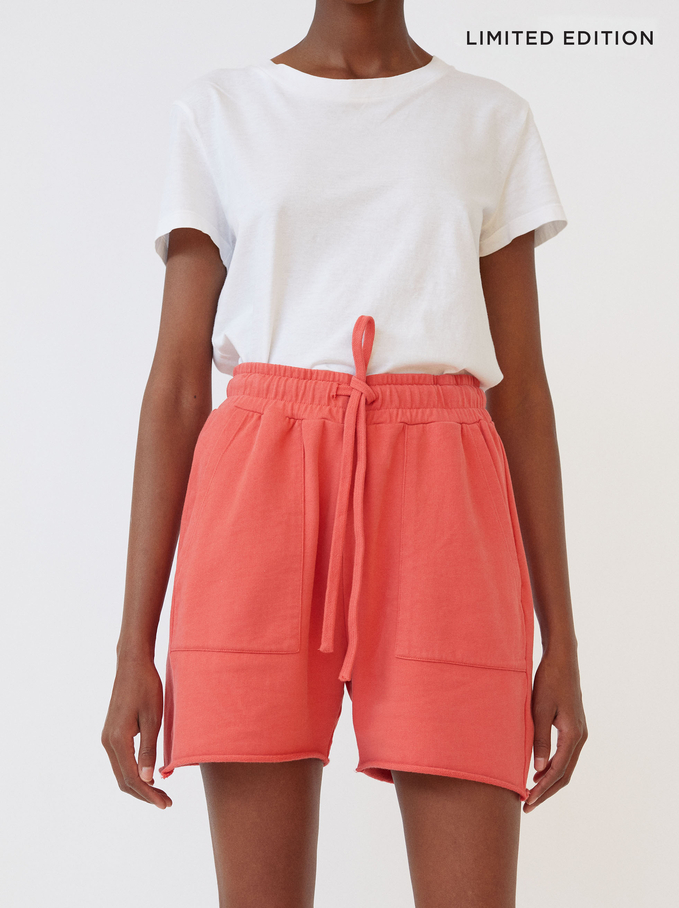 Limited Edition Shorts With Pockets, Pink, hi-res